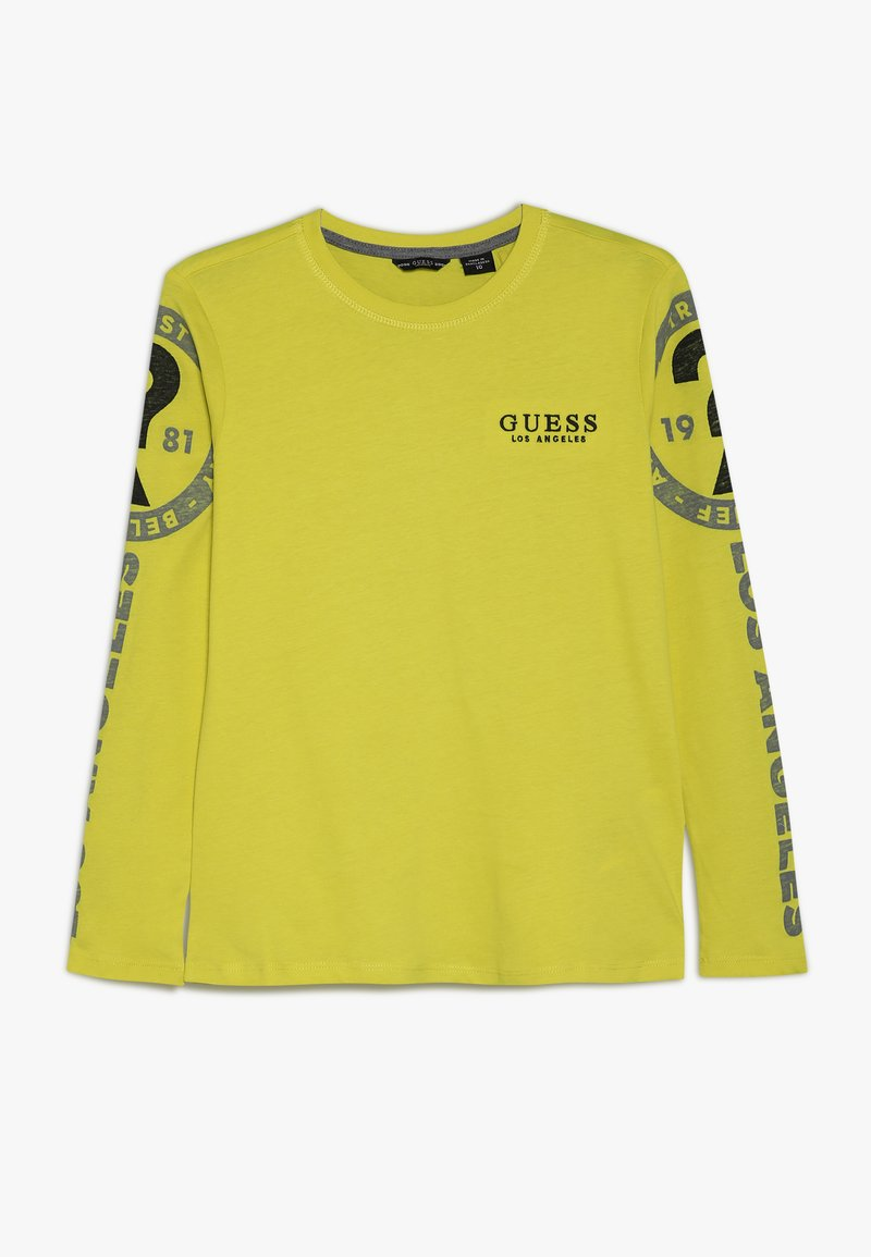 Guess - JUNIOR  - Camiseta de manga larga - chartreuse