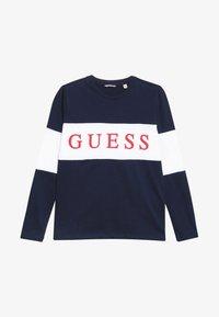 Guess - JUNIOR  - T-shirt à manches longues - deck blue - 2