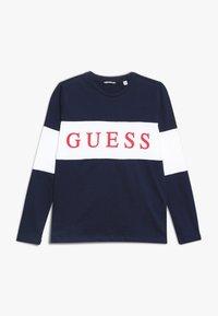 Guess - JUNIOR  - T-shirt à manches longues - deck blue - 0