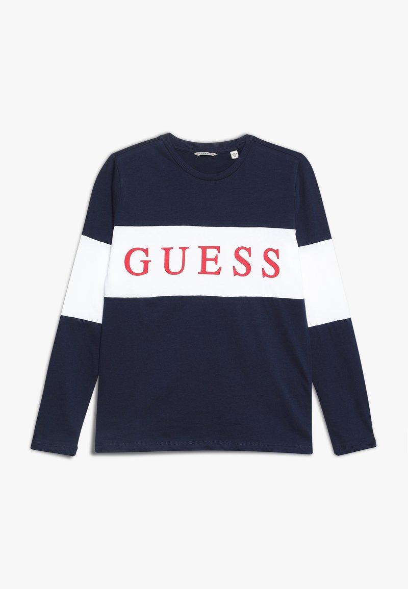 Guess - JUNIOR  - T-shirt à manches longues - deck blue