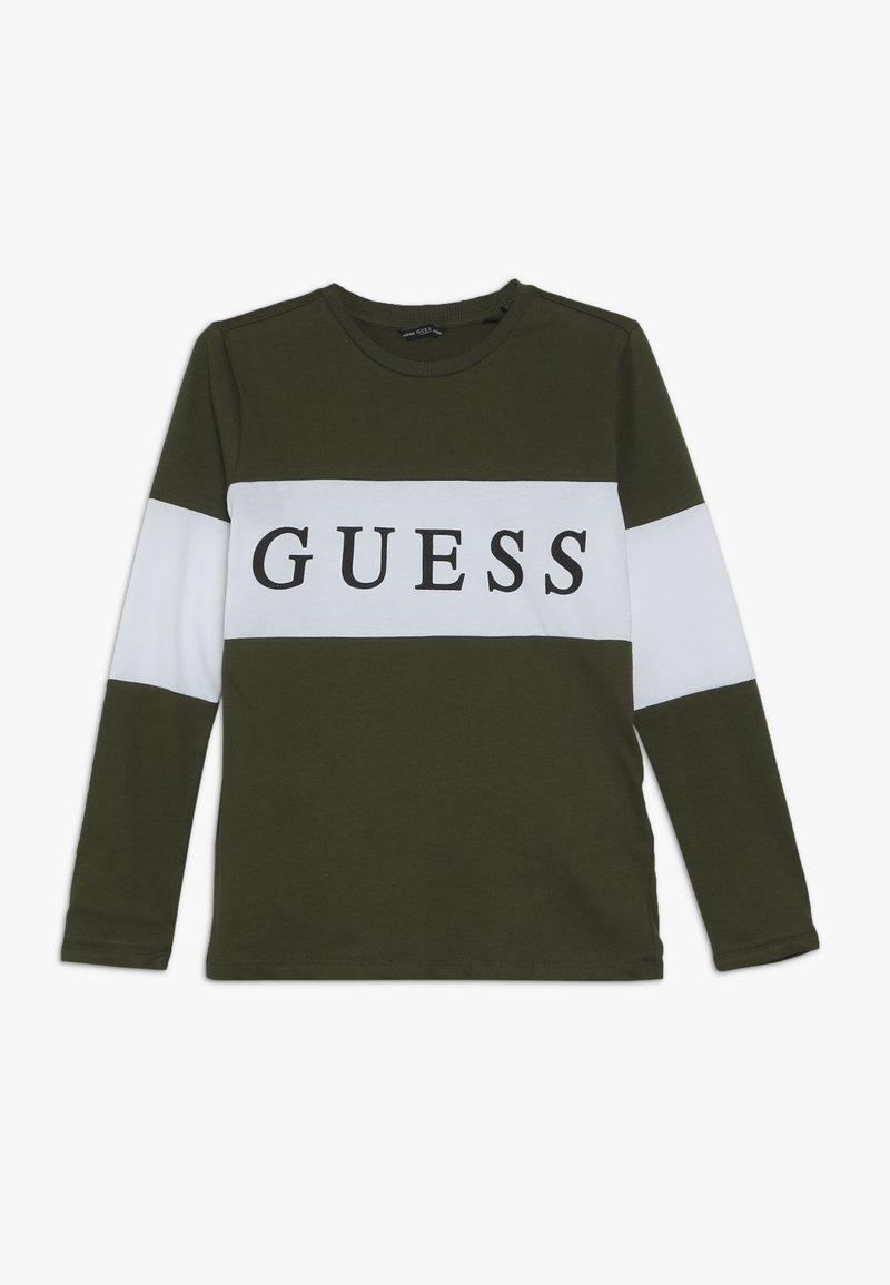 Guess - JUNIOR  - Camiseta de manga larga - dark pine