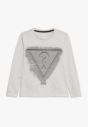 JUNIOR - Camiseta de manga larga - stone white
