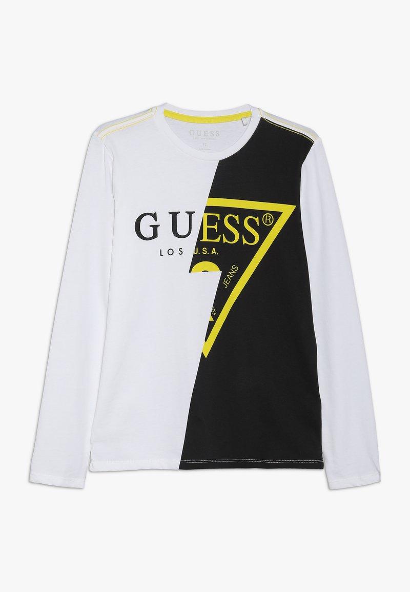 Guess - JUNIOR - Langarmshirt - true white