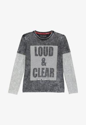 JUNIOR - Langærmede T-shirts - jet black