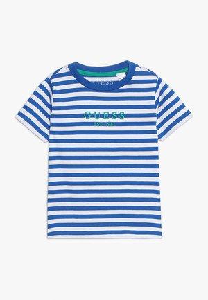 TODDLER - Camiseta estampada - blue/white
