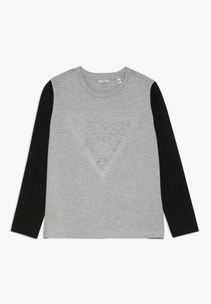 JUNIOR EXCLUSIVE  - Top sdlouhým rukávem - light heather grey