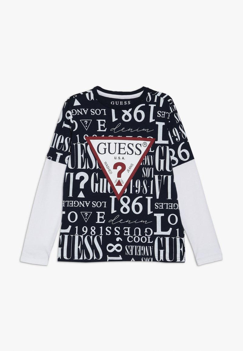 Guess - JUNIOR  - Camiseta de manga larga - blue navy