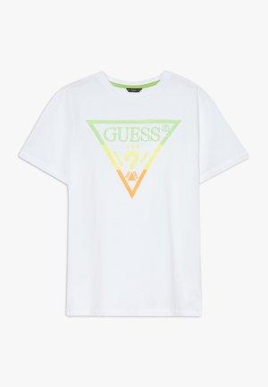 JUNIOR - Camiseta estampada - blanc pur
