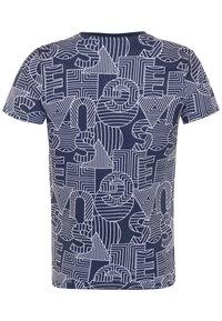 Guess - JUNIOR - Print T-shirt - blue - 1