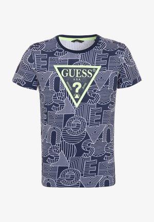 JUNIOR - Print T-shirt - blue