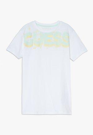 JUNIOR  - T-shirt con stampa - blanc pur