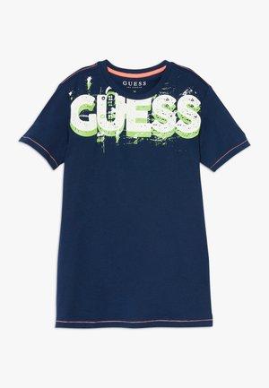 JUNIOR  - Print T-shirt - bleu/deck blue