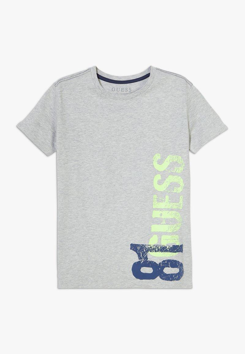 Guess - JUNIOR  - Print T-shirt - light heather grey