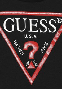 Guess - TODDLER CORE - Long sleeved top - jet black - 3