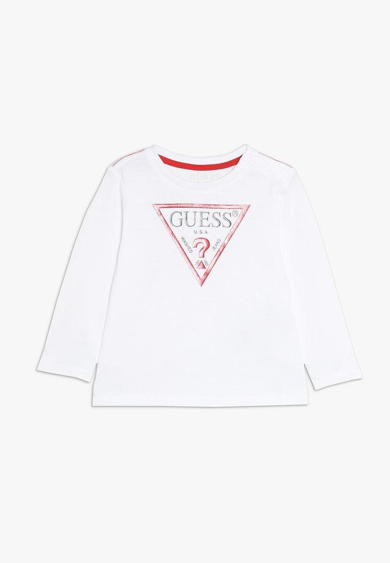 Guess - CORE BABY - Pitkähihainen paita - true white