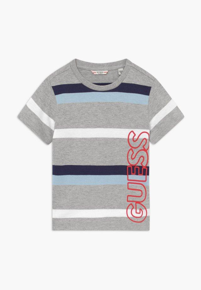 TODDLER - T-shirt print - blue/grey/white