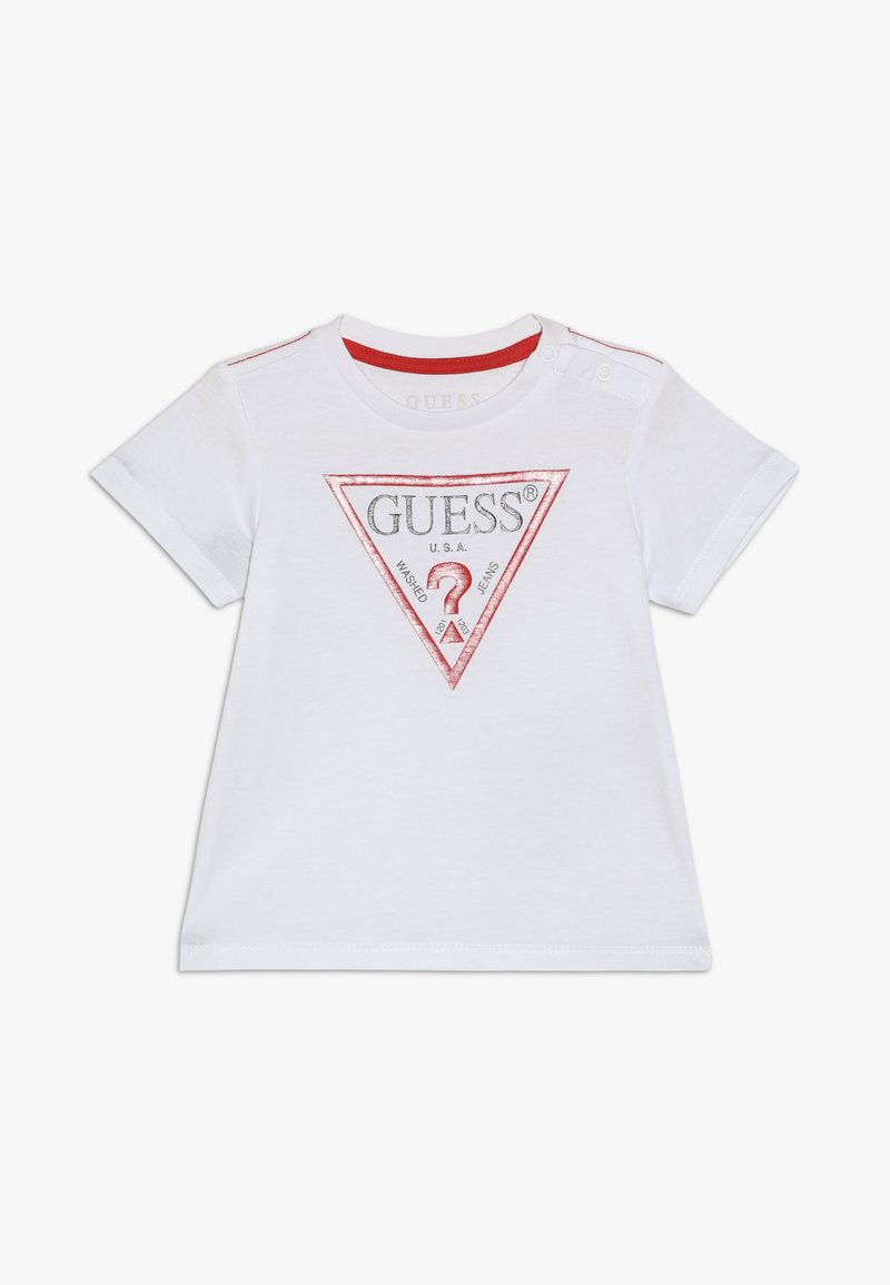 Guess - CORE BABY - Camiseta estampada - true white