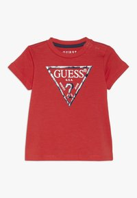 Guess - CORE BABY - Triko s potiskem - nora orange - 0