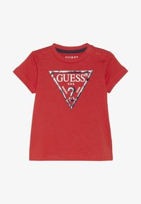 Guess - CORE BABY - Triko s potiskem - nora orange - 2
