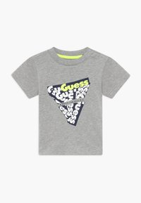Guess - T-shirt imprimé - light heather grey - 0