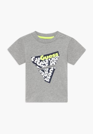 Camiseta estampada - light heather grey