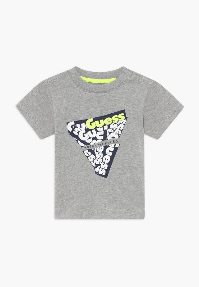 T-shirt print - light heather grey