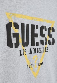 Guess - JUNIOR  - Print T-shirt - light heather grey - 3