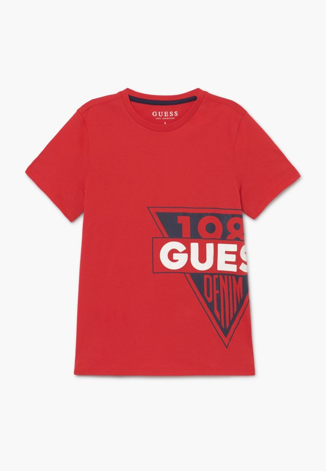 JUNIOR  - T-shirt con stampa - red