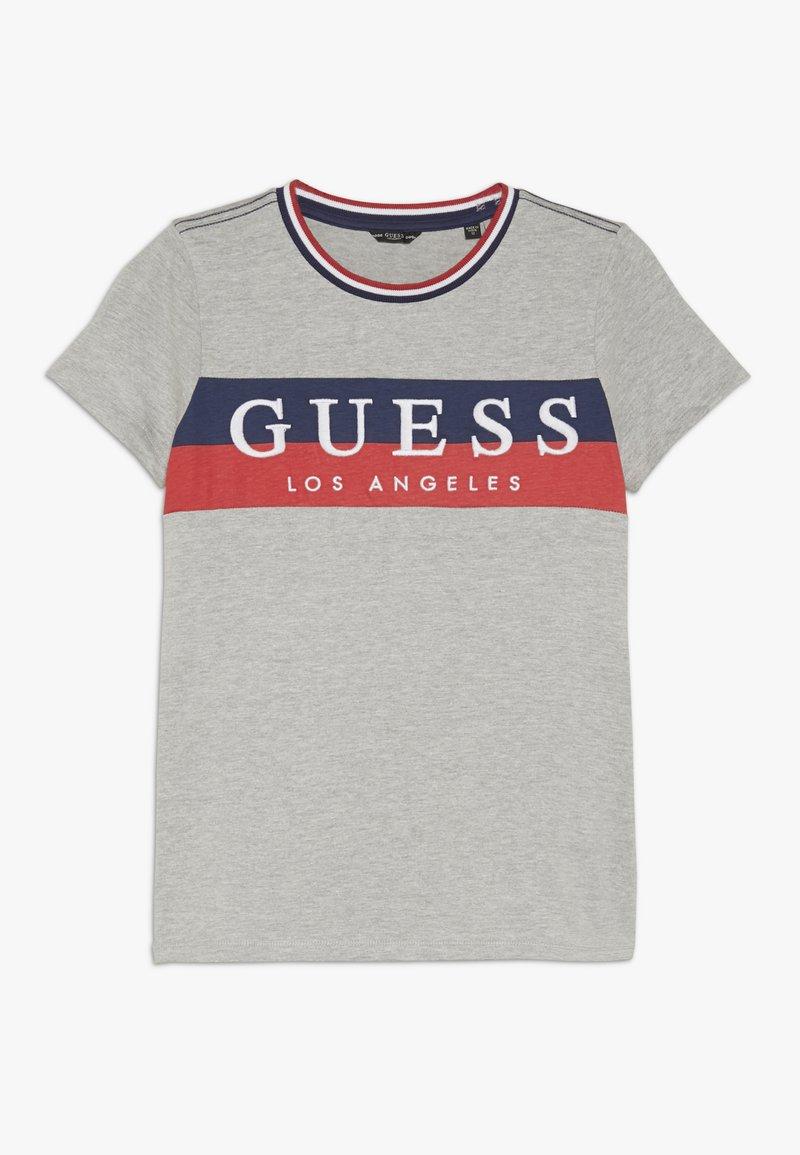 Guess - JUNIOR - T-shirt z nadrukiem - grey