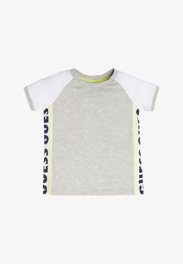 T-SHIRT LOGO LATERALE - T-shirt print - grigio chiaro
