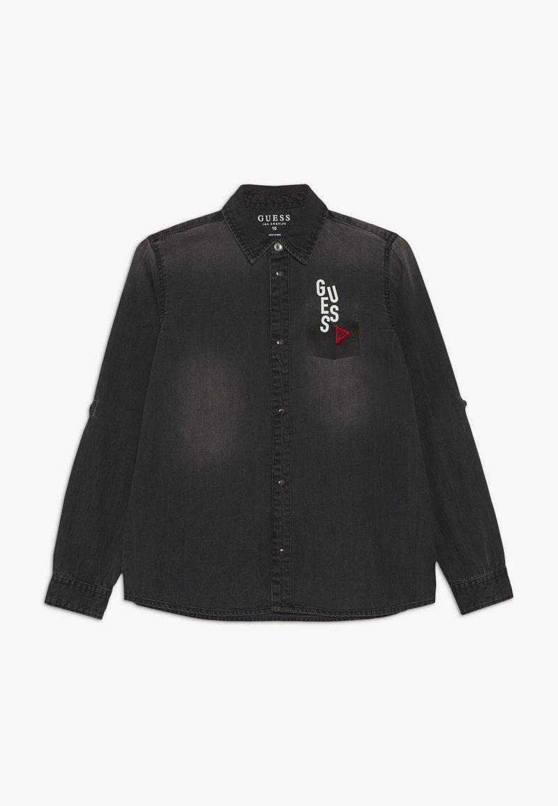 Guess - JUNIOR - Košile - jet black