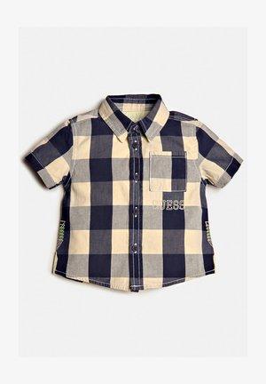 Overhemd - mehrfarbig, grundton blau