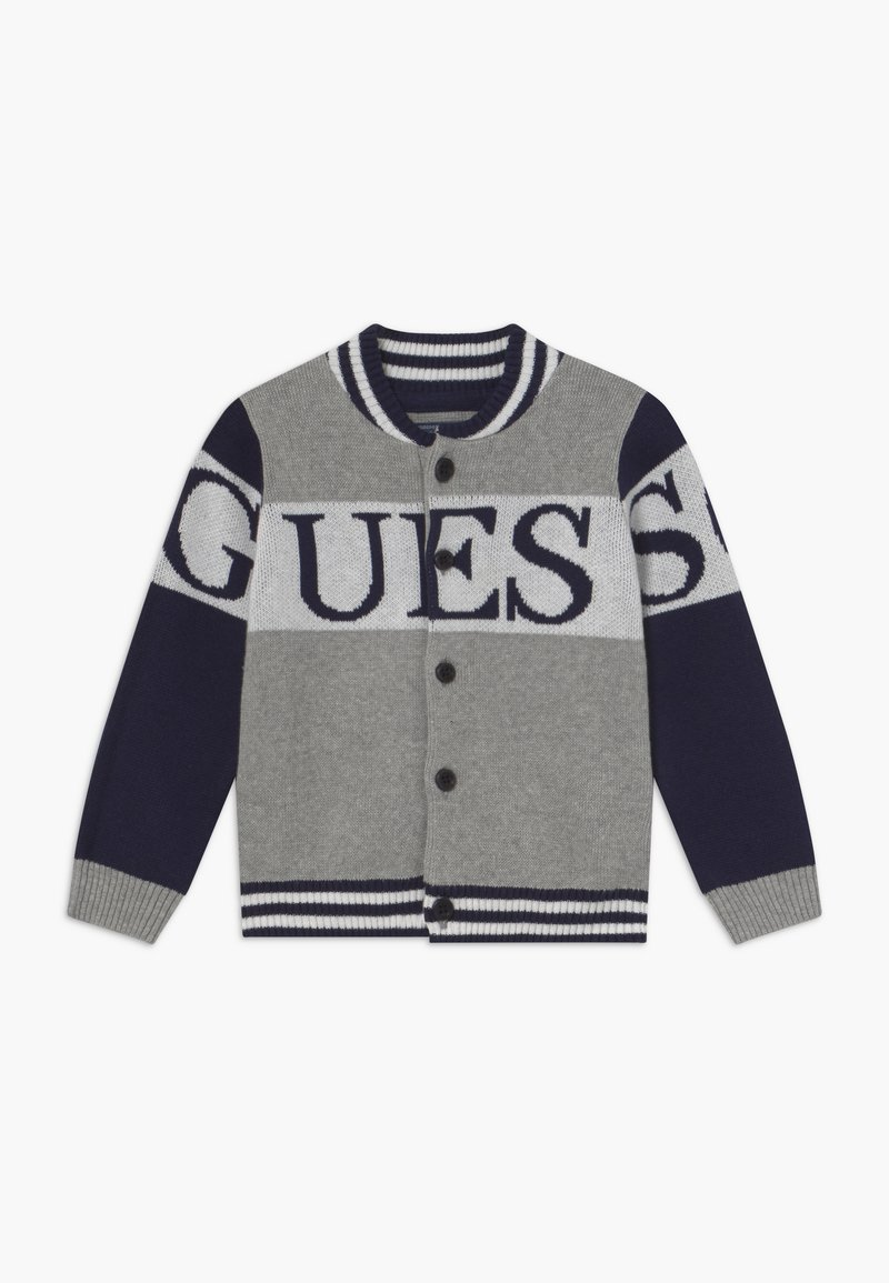 Guess - BABY - Gilet - blue/grey