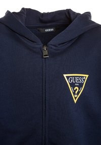 Guess - CORE  - Huvtröja med dragkedja - blue - 2