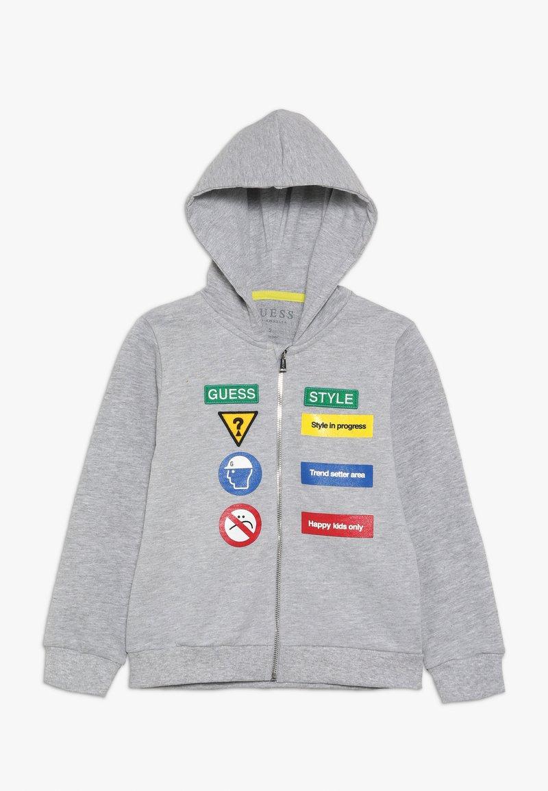 Guess - TODDLER  - veste en sweat zippée - light heather grey