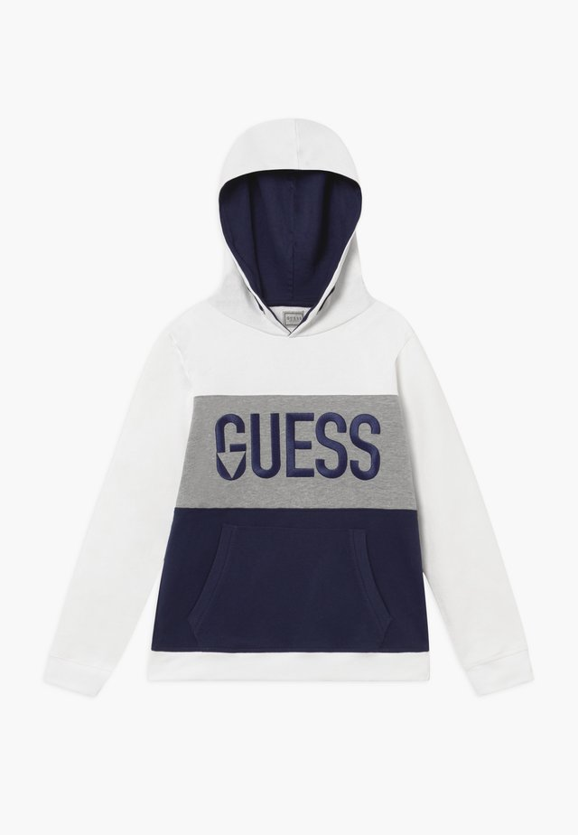 JUNIOR HOODED ACTIVE - Kapuzenpullover - hypnotic white/grey