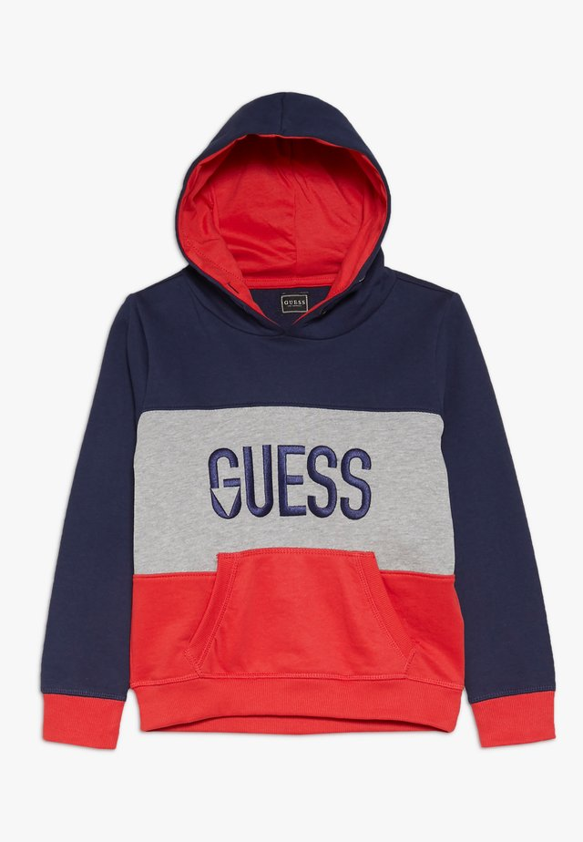 TODDLER HOODED ACTIVE - Sweater - red/navy