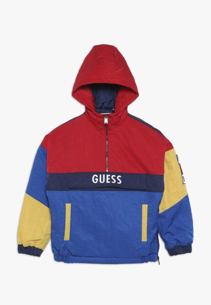 Guess - JUNIOR JACKET HOOD - Zimní bunda - blue