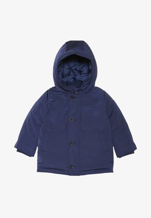 HOODED LONG JACKE BABY - Zimní bunda - deck blue