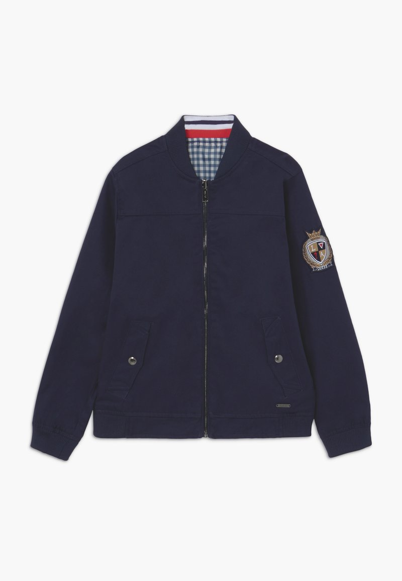 Guess - JUNIOR REVERSIBLE - Light jacket - deck blue