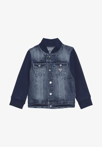 Guess - JACKET SLEEVE BABY - Veste en jean - jordi faded blue - 2