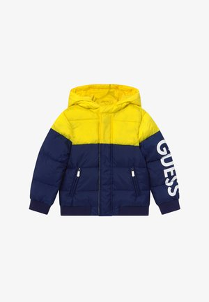 TODDLER HOODED PADDED JACKET - Winter jacket - bluish