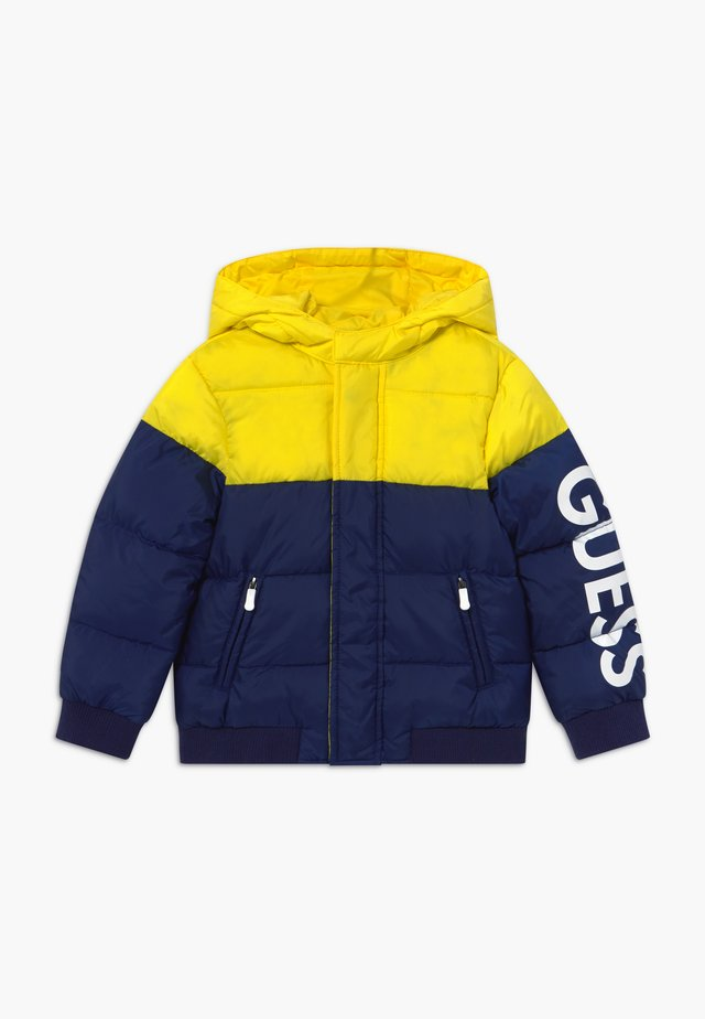 TODDLER HOODED PADDED JACKET - Chaqueta de invierno - bluish