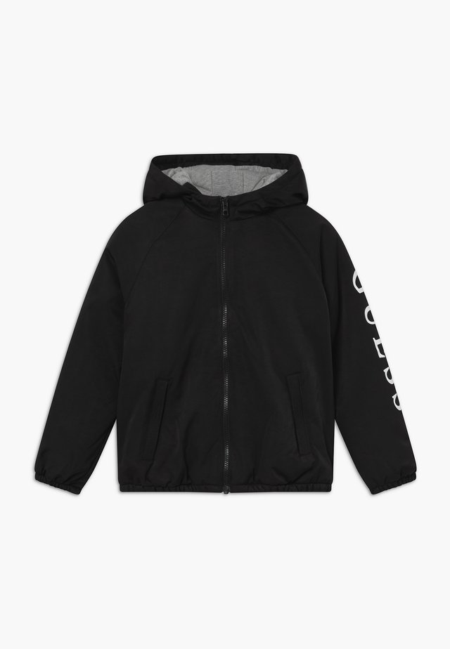 JUNIOR HOODED ZIPPER - Winterjas - jet black