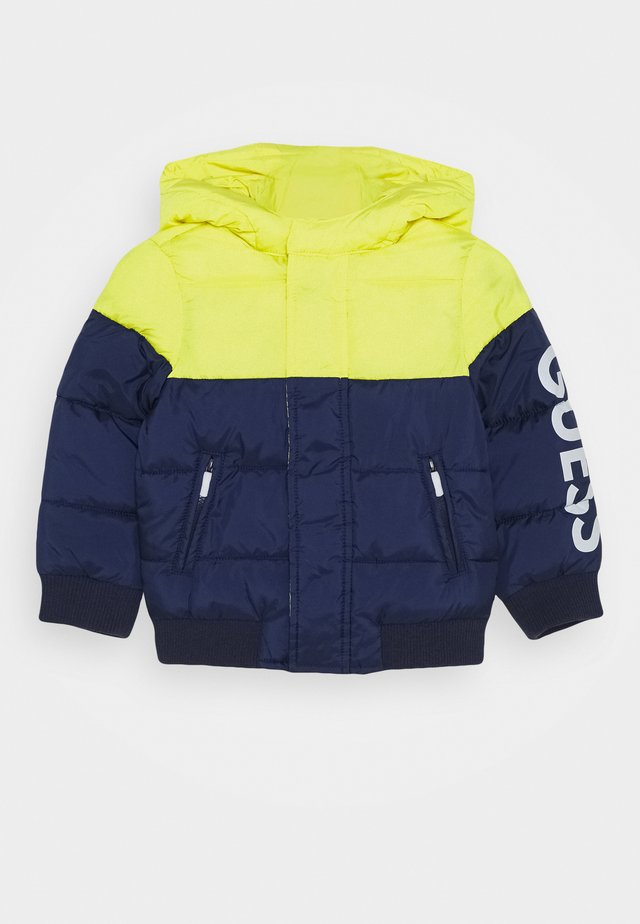 HOODED PADDED JACKET BABY - Winterjas - bluish