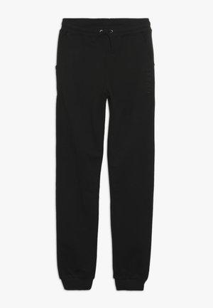 JUNIOR UNISEX ACTIVE PANTS - Pantalon de survêtement - jet black