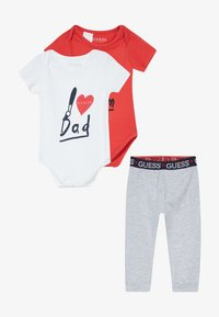 Guess - BABY SET - Body - red and grey combo - 4