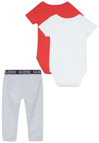 Guess - BABY SET - Body - red and grey combo - 1