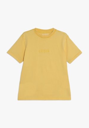 JUNIOR UNISEX OVERSIZE  - Jednoduché triko - gold rush yellow