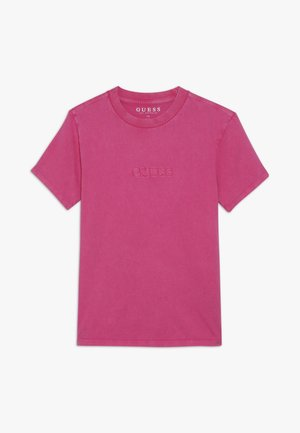 JUNIOR UNISEX OVERSIZE  - T-shirts - rouge/shocking pink